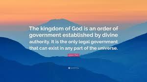 Gods Order
