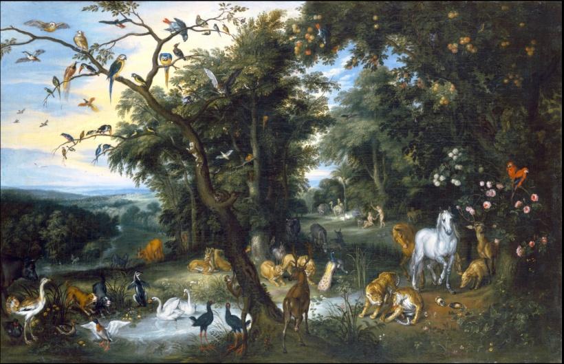 Garden of Eden Izak van Oosten