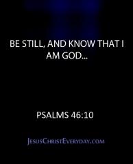 Be Still...2