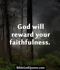 God's Reward